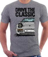 Drive The Classic Porsche 944 Late Model. T-shirt in Heather Grey Colour
