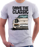 Drive The Classic Porsche 944 Late Model. T-shirt in White Colour
