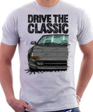 Drive The Classic Toyota MR2 Mk2. T-shirt in White Colour