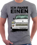 Ich Fahre Einen Trabant. T-shirt in Heather Grey Colour