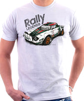 Rally Legend Lancia Stratos. T-shirt.