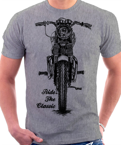 Ride The Classic. Triumph Bonneville 120. T-shirt.