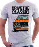 Drive The Classic VW Scirocco Mk1. T-shirt in White Colour
