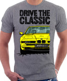 Drive The Classic BMW E31 Early Model. T-shirt in Heather Grey Colour