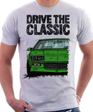 Drive The Classic Chevrolet Camaro 3 Gen RS. T-shirt in White Colour