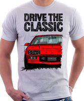 Drive The Classic Chevrolet Camaro 3 Gen Sport Coupe. T-shirt in White Colour