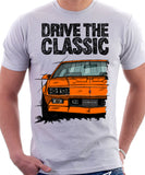 Drive The Classic Chevrolet Camaro 3 Gen Z28 Late Model. T-shirt in White Colour