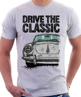 Drive The Classic Porsche 356 B. T-shirt in White Colour