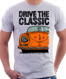 Drive The Classic Porsche 356 A Speedster. T-shirt in White Colour