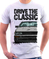 Drive The Classic Toyota AE86 Levin. T-shirt in White Colour