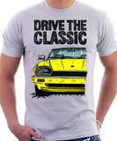 Drive The Classic Jaguar XJS. T-shirt in White Colour