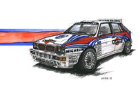 Rally Legend Lancia Delta Integrale. T-shirt.
