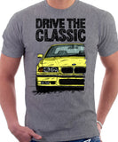 Drive The Classic BMW E36 M3. T-shirt in Heather Grey Colour