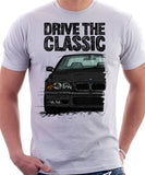 Drive The Classic BMW E36 M3. T-shirt in White Colour