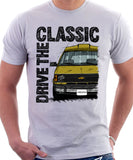 Drive The Classic Chevrolet Astro 1 Starcraft. T-shirt in White Colour