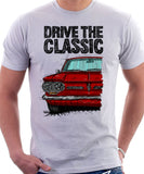 Drive The Classic Chevrolet Corvair 1st Gen 1962. T-shirt in White Color