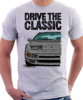 Drive The Classic Nissan 300ZX Z32 Late Model. T-shirt in White Colour