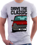 Drive The Classic Renault 5 GTL Early Model. T-shirt in White Color