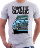 Drive The Classic Saab 96 1960 Model. T-shirt in White Colour