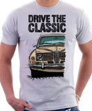 Drive The Classic Saab 96 1964 Model. T-shirt in White Colour