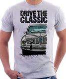 Drive The Classic Saab 96 1969 Model. T-shirt in White Colour
