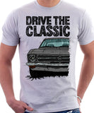 Drive The Classic Opel Ascona A. T-shirt in White Colour