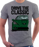 Drive The Classic Toyota Celica 7 Generation Prefacelift Model. T-shirt in Heather Grey Colour