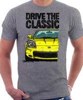 Drive The Classic Toyota MR2 Mk3  Early Model T-shirt in Heather Grey Colour