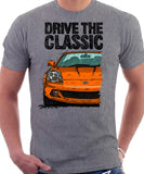 Drive The Classic Toyota MR2 Mk3 Late Model T-shirt in Heather Grey Colour