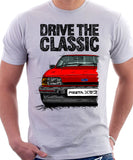 Drive The Classic Ford Fiesta Mk2 XR2 . T-shirt in White Colour