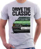 Drive The Classic Ford Fiesta Mk2 XR2 Spotlights . T-shirt in White Colour