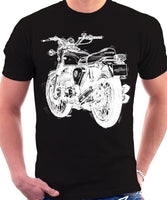 Honda CB 750 Four One Colour Print T-shirt