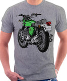 Honda CB 750 Four Heather Grey T-shirt