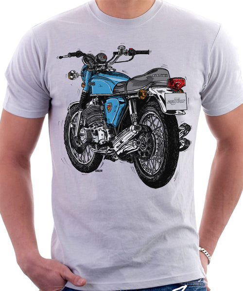 Honda CB 750 Four White T-shirt