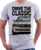 Drive The Classic Mercedes R129. T-shirt in White Colour