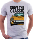 Drive The Classic Datsun 280ZX Series 1. T-shirt in White Colour
