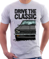 Drive The Classic Opel Kadett C Early Model. T-shirt in White Colour