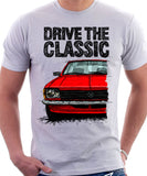 Drive The Classic Opel Kadett C Late Model. T-shirt in White Colour