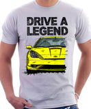 Drive A Legend Toyota Celica 7 Generation Facelift Model. T-shirt in White Colour