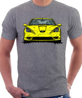 Toyota Celica 7 Generation Prefacelift Model. T-shirt in Heather Grey Colour