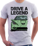 Drive A Legend Toyota Celica 7 Generation Prefacelift Model. T-shirt in White Colour