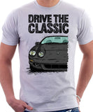 Drive The Classic Toyota Celica 6 Generation Facelift. T-shirt in White Colour