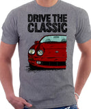 Drive The Classic Toyota Celica 6 Generation Prefacelift. T-shirt in Heather Grey Colour