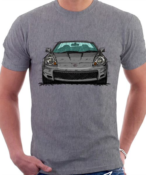 Toyota MR2 Mk3 Early Model T-shirt in Heather Grey Colour