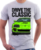 Drive The Classic Toyota Supra Mk4 Turbo Europe. T-shirt in White Colour