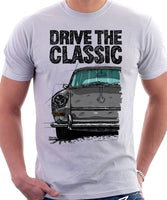 Drive The Classic VW Type 3 Early Model . T-shirt in White Colour