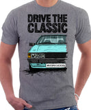 Drive The Classic VW Scirocco Mk2. T-shirt in Heather Grey Colour