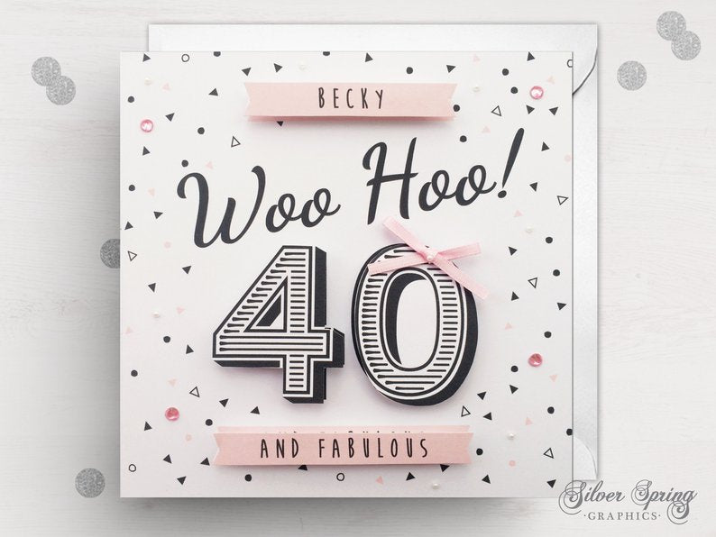Woo Hoo Fabulous Card