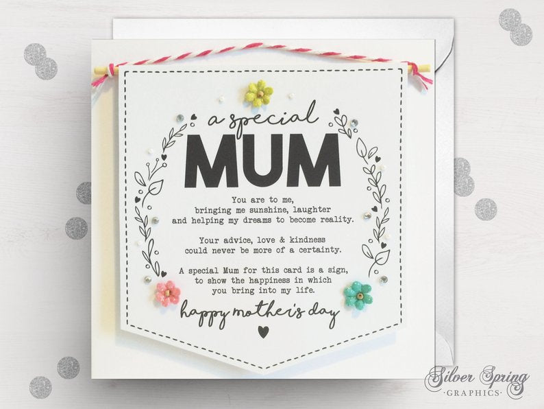 Mother's Day - Banner Card