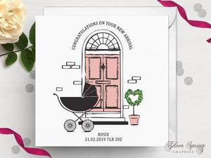 Door Stop Day Dreams - New Arrival Card